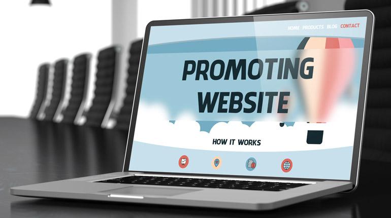 Oglaševanje spletne strani